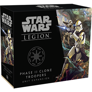 Star Wars Legion Phase II Clone Troopers