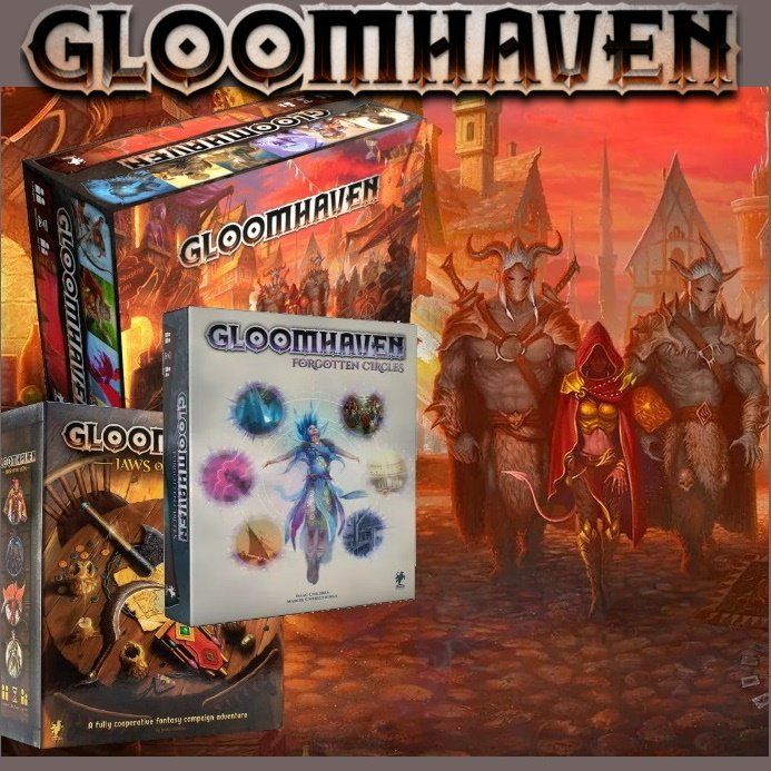 Gloomhaven Complete Collection Bundle