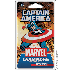 MARVEL LCG CAPTAIN AMERICA HERO