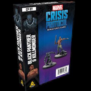 Black Panther Killmonger Marvel Crisis Protocol