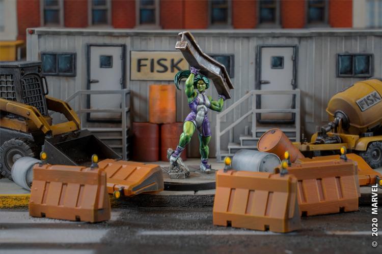 She-Hulk Marvel Crisis Protocol