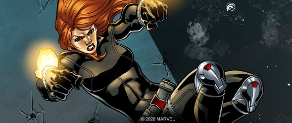 Black Widow Marvel Champions LCG
