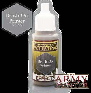 Brush on primer army painter