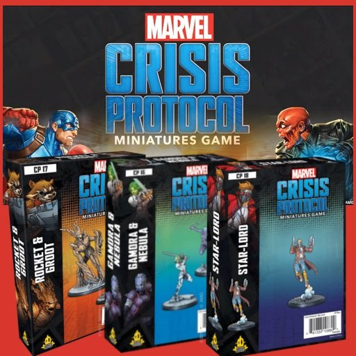 Marvel Crisis Protocol Bundle Guardians of the Galaxy