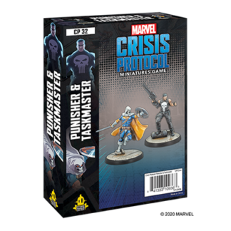 Marvel Crisis Protocol Punisher and taskmaster