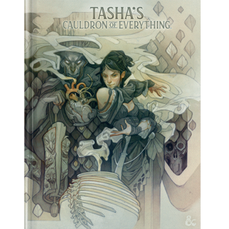 D&D Tash's Cauldron of Everything Alt Art