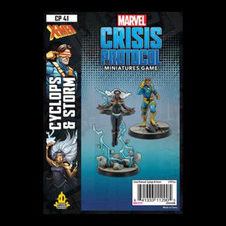 Marvel Crisis Protocol Cyclops & Storm