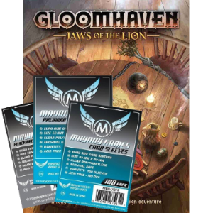 Gloomhaven Jaws of the Lion sleeve pack