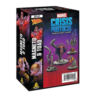 Marvel Crisis Protocol Magneto & Toad