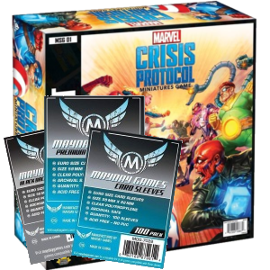 Marvel Crisis protocol sleeve pack