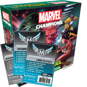 Marvel Champions Rise of Red Skull sleeve pack