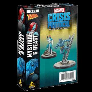 Marvel Crisis Protocol Beast & Mystique