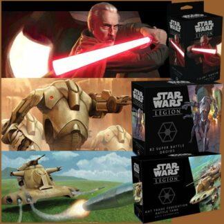Star Wars Legion Seperatist Bundle