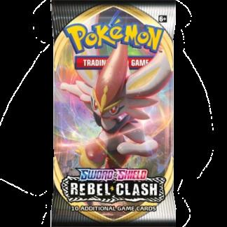 Pokémon TCG Rebel Clash Booster
