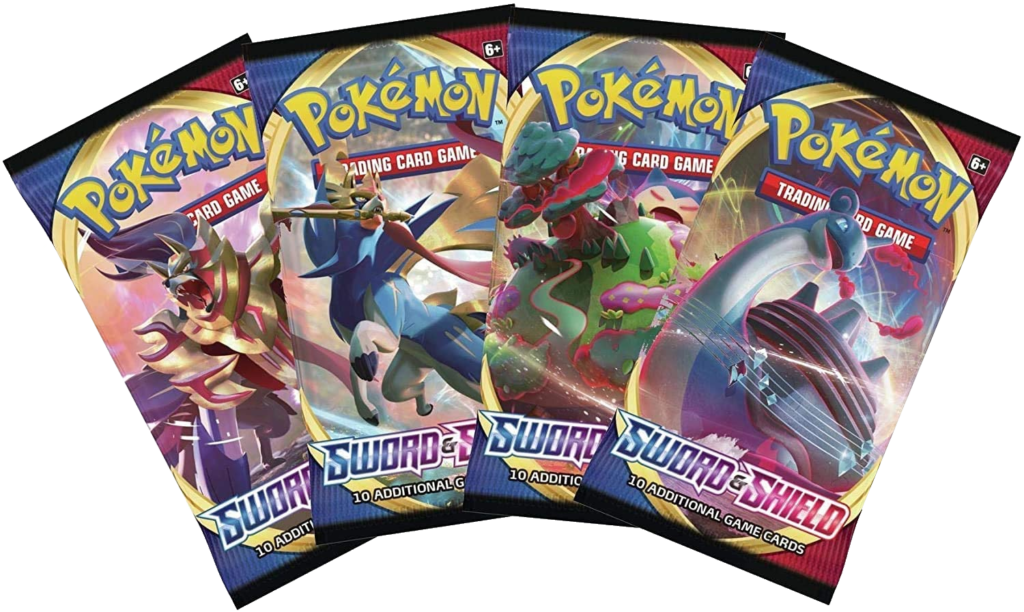 Sword and Shield Pokémon Booster Packs