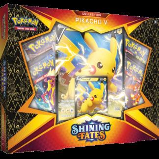Pokémon TCG Pikachu V Box Shining Fates