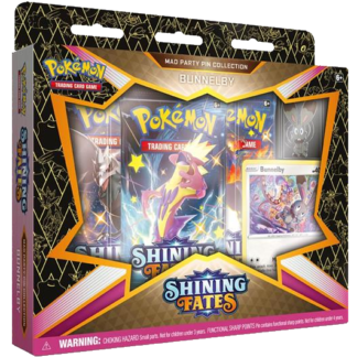 Shining Fates Bunnelby Pin Collection