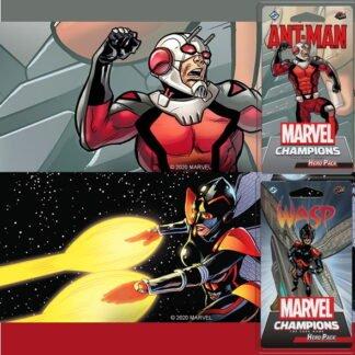 Ant Man en Wasp Bundle Marvel Champions LCG
