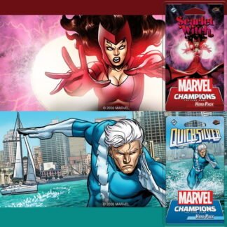 Marvel Champions LCG Maximoff Bundle (Scarlet Witch + Quicksilver)