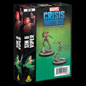 Marvel Crisis Protocol Sin & Viper